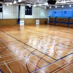 Sports floor refurbishment